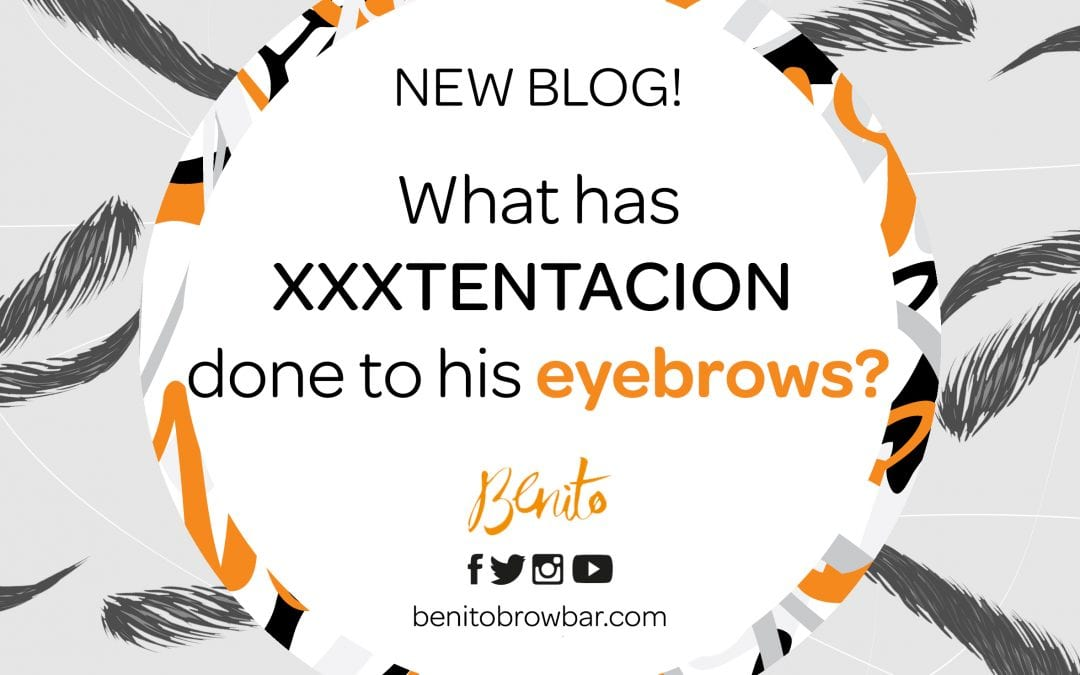 Find out what XXXTentacion has done to his eyebrows…