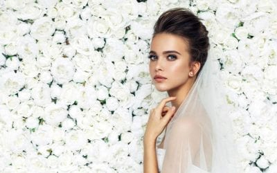 You, the make-up artist achieving step by step wedding makeup