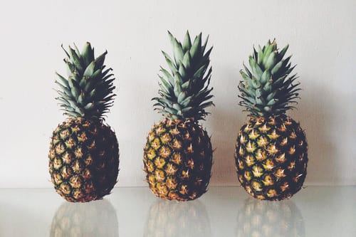 Pina Colada for the skin? The pineapple is the new skincare trend product