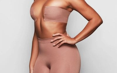 Wardrobe malfunctions no more! Kim Kardashians new SKIMS Body Tape is an upgrade of a classic Cleavage Hack.